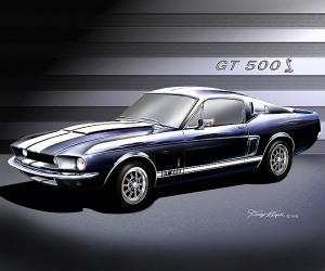 ITEM 6-J 1967 MUSTANG SHELBY GT-500