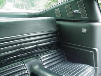 1965 2+2 Fastback interior