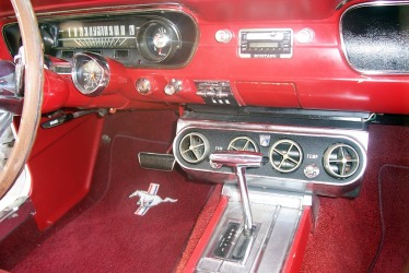 1965 Fastback interior