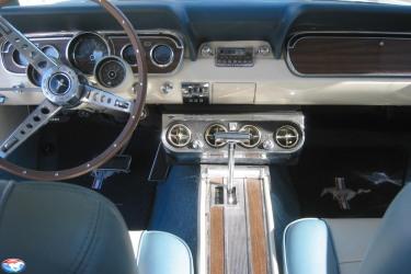 1965 GT350 interior