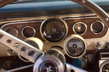 Rally Pack: 1965 Mustang A Code 4 Speed Factory Air Pony Interior Equalock