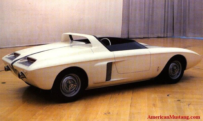 1962 Mustang Concept I & Ford Mustang History: 1962   Shnack.com markmcfarlin.com