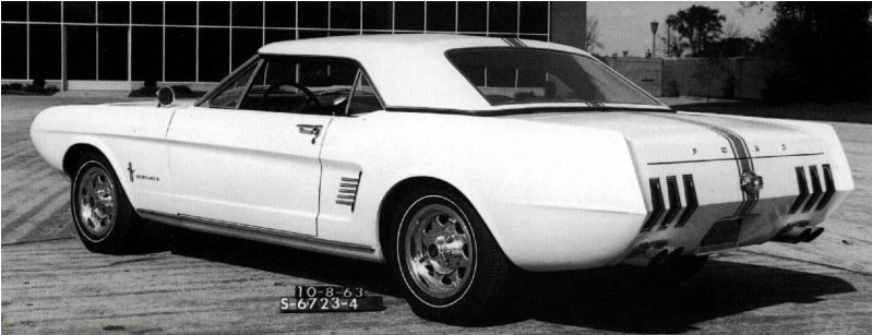Ford Mustang History: 1963 | Shnack.com