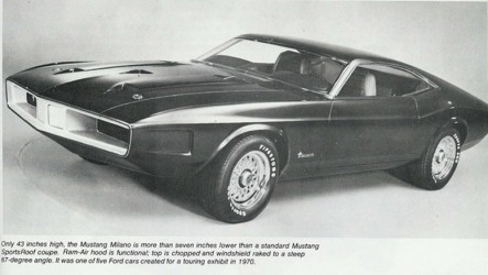 1971 Milano Mustang Concept
