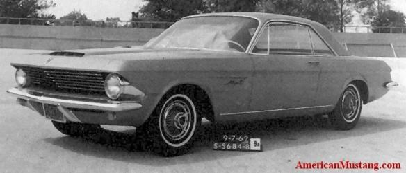 1962 Mustang Prototype