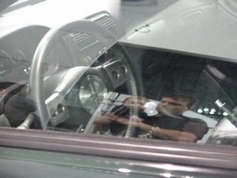 2000 Bullitt Concept Steering Wheel
