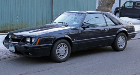 1986 Ford Mustang GT 5.0 T-top