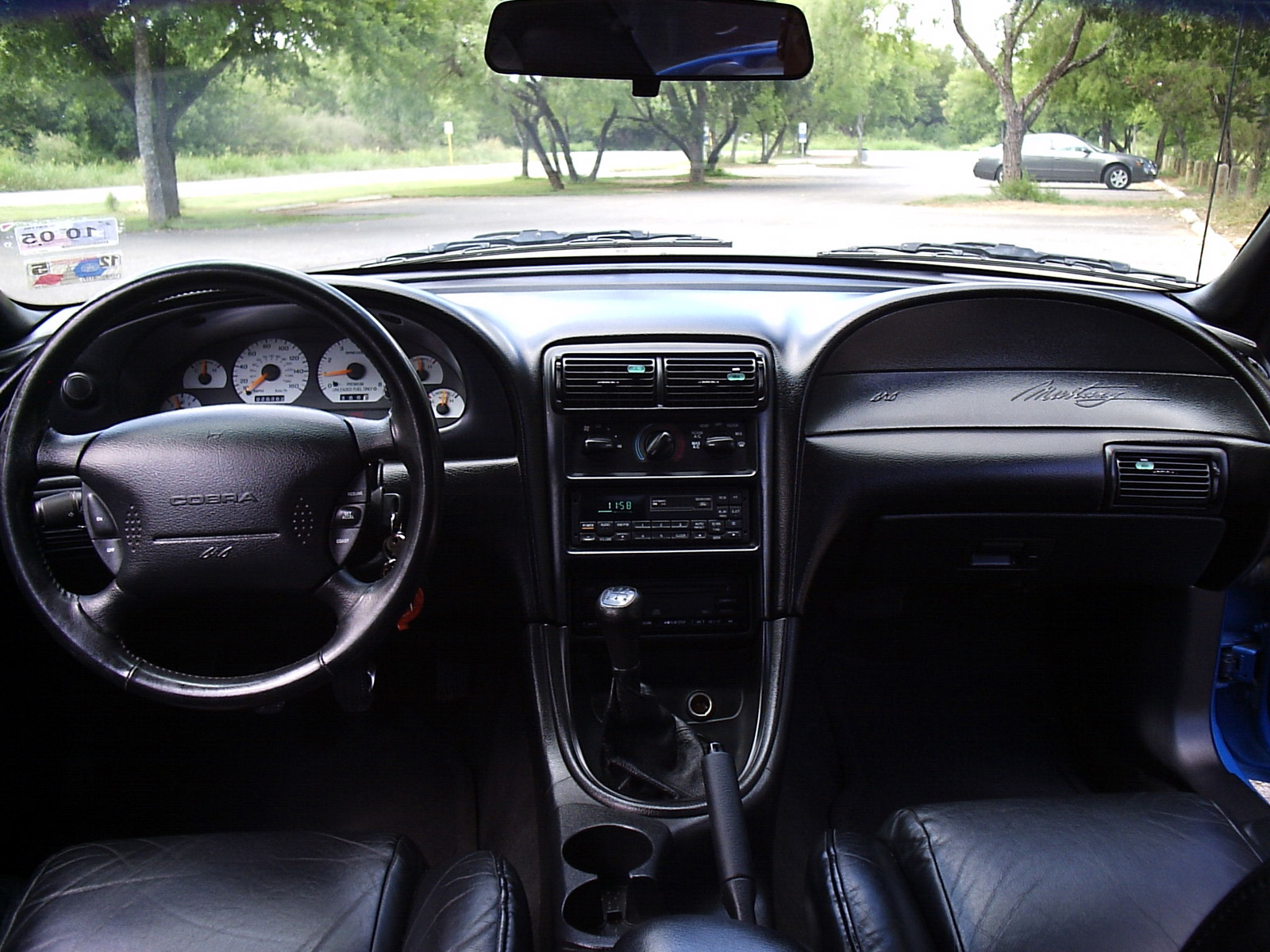 1998 Cobra Interior Ford Mustang Photo Gallery