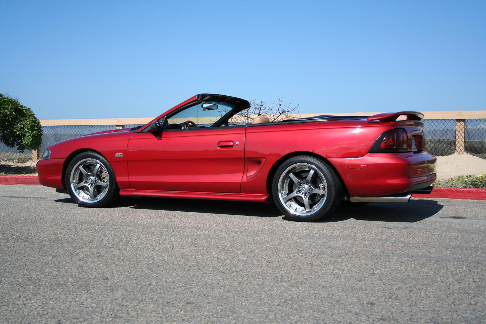 1995 gt convertible ford mustang photo gallery shnack com