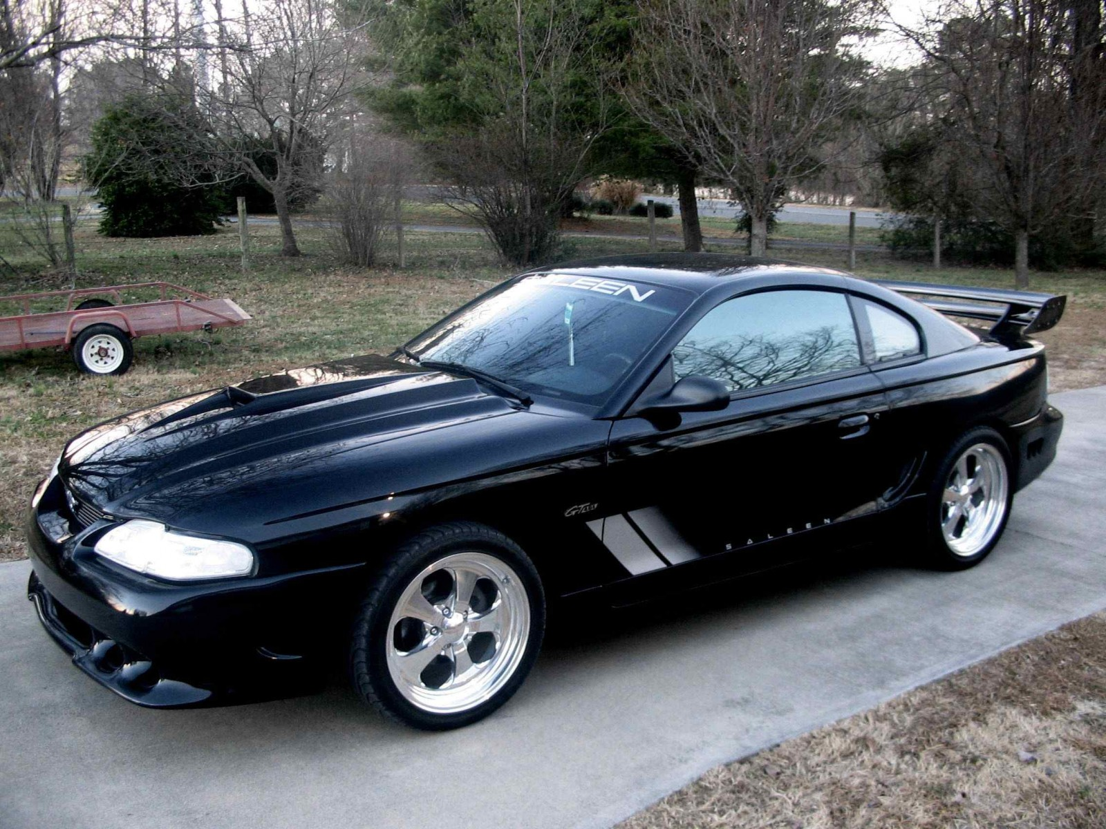 Ford Mustang Photo Gallery 1998 Saleen Shnack Com