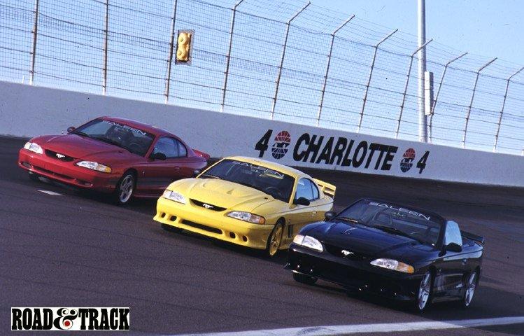 Mustang 1995 Saleen 1995 Saleens