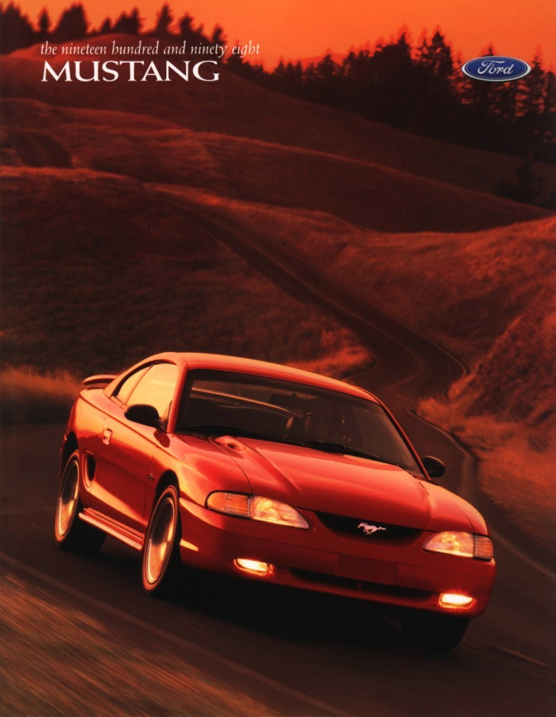 1998 Ford Mustang Gt >> Ford Mustang History: 1998 | Shnack.com