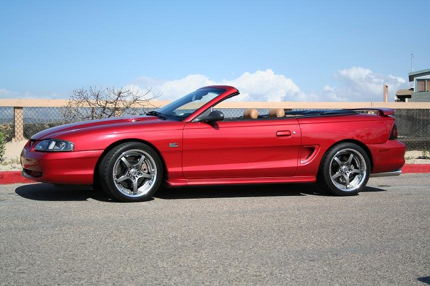 ford mustang photo gallery 1995 gt convertible. Black Bedroom Furniture Sets. Home Design Ideas