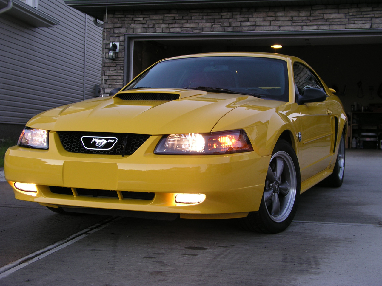 2005 Ford Mustang Coupe >> Ford Mustang History: 2004 | Shnack.com