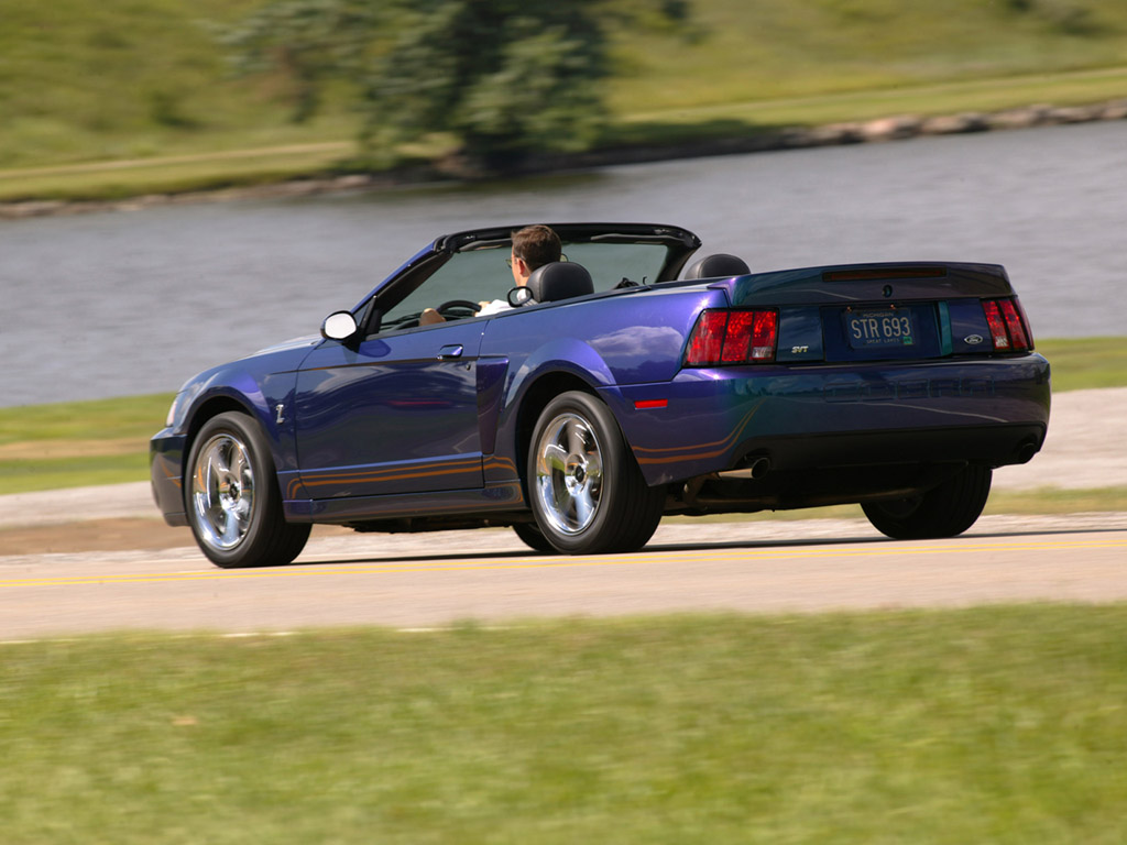 2004 Cobra Mystichrome Convertible Ford Mustang Photo
