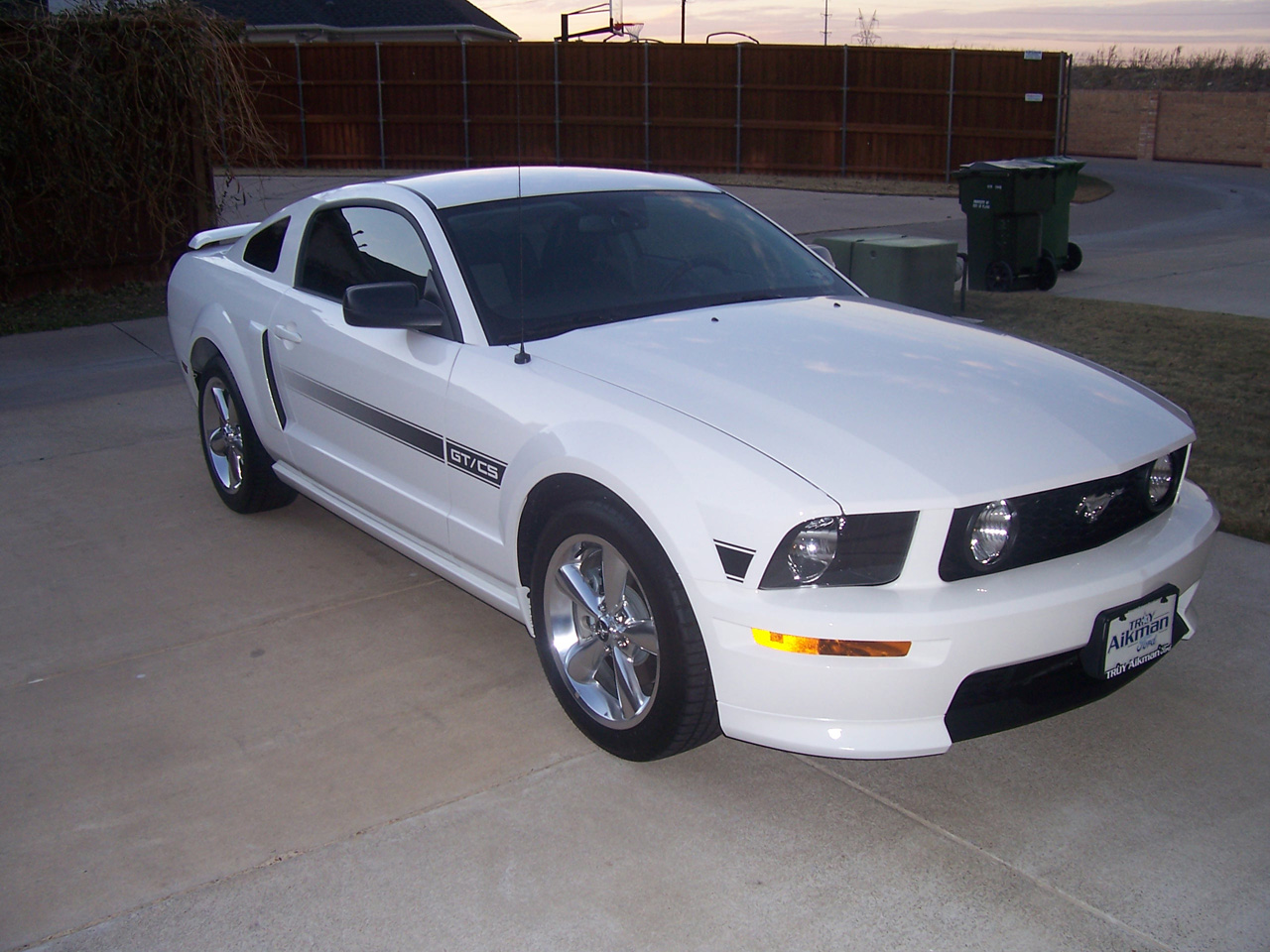 ford mustang photo gallery 2007 gt cs california special. Black Bedroom Furniture Sets. Home Design Ideas