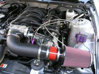 2005 GT 4.6 with MMR cold air kit and Zex N20