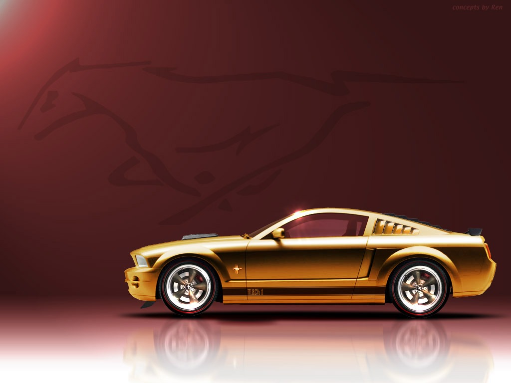 2005 concept mach 1 ford mustang photo gallery shnack com