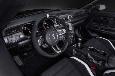 2016 Shelby GT350R Interior