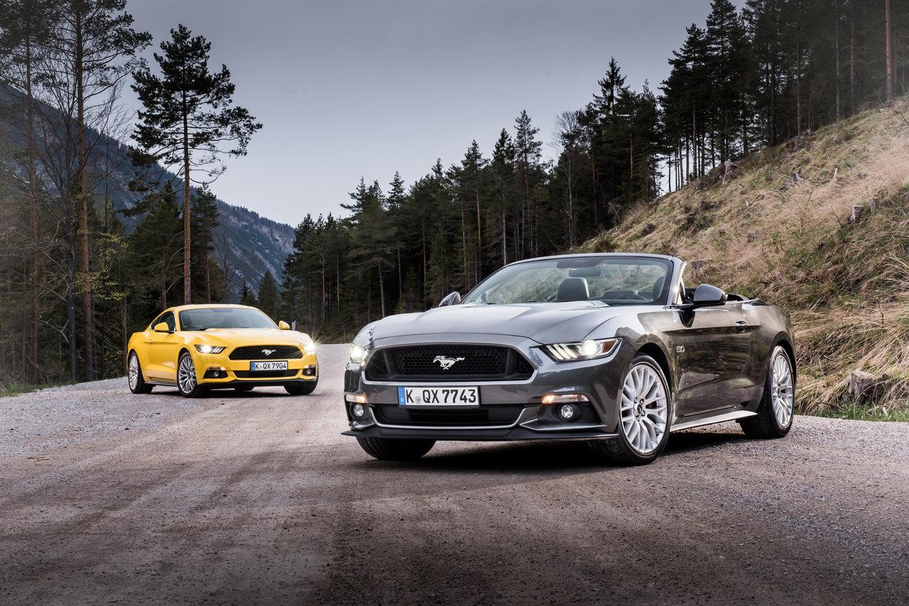 2015 Ford Mustangs