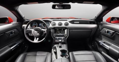 2015 GT interior