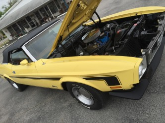 1973 Mustang Convertible 351 Cleveland--Redemption