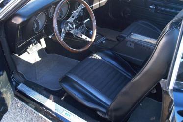 1971 Mach 1 interior