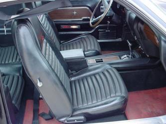 1969 Mach 1 interior