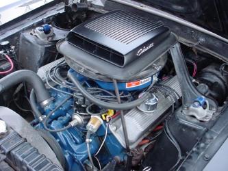 1969 Mach 1 engine
