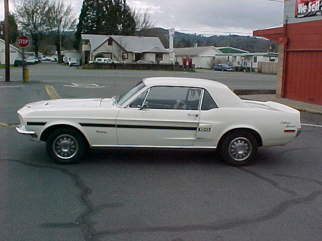 Ford Mustang History: 1968 | Shnack com