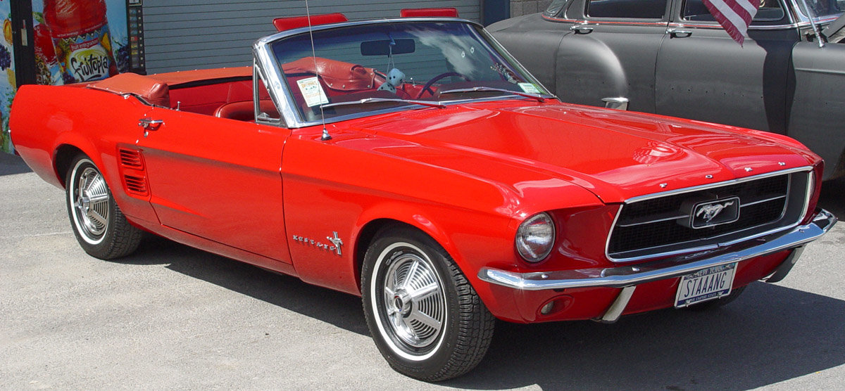 1967 convertible - Ford Mustang Shelby Gt500 1967 Convertible