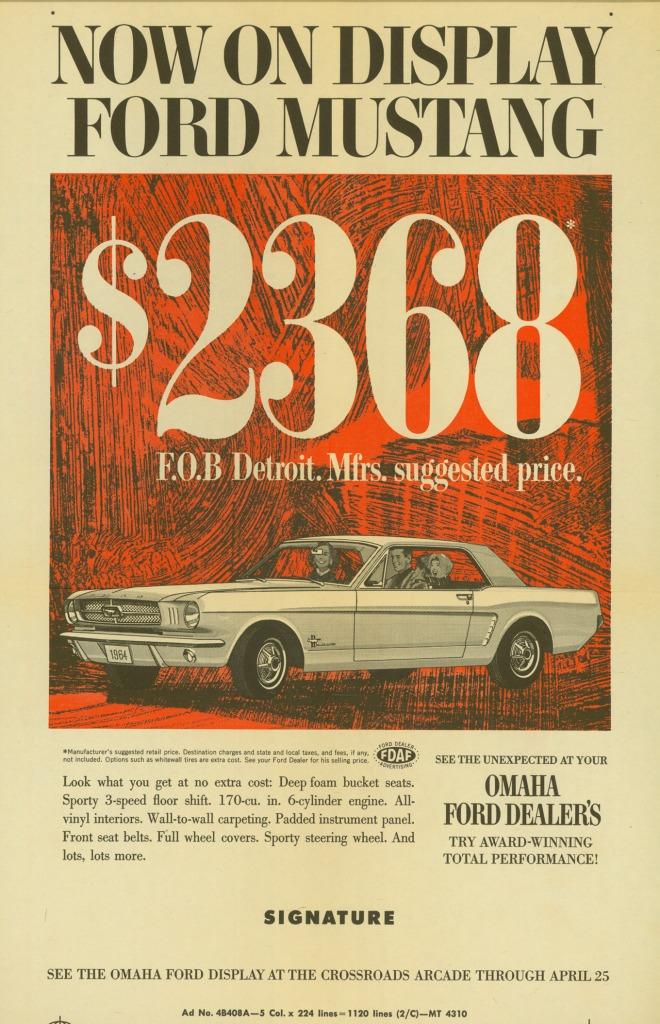 Ford Mustang History 1964 Shnack Com
