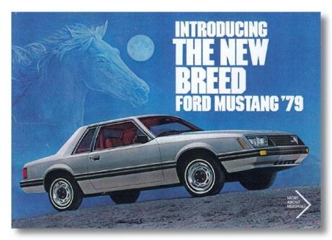 1979 Mustang Advertisement
