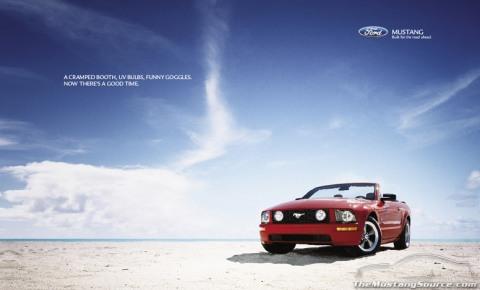 2005 Mustang Advertisement