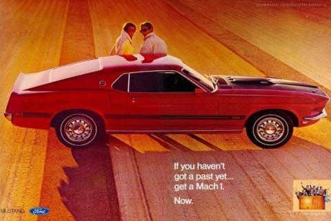 1969 Mustang Advertisement