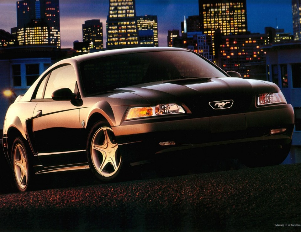 ford mustang history 1999. Black Bedroom Furniture Sets. Home Design Ideas