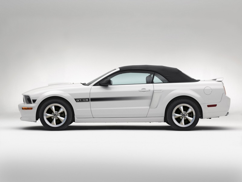 2007 Ford Mustang California Special Gtcs Introduced Shnack