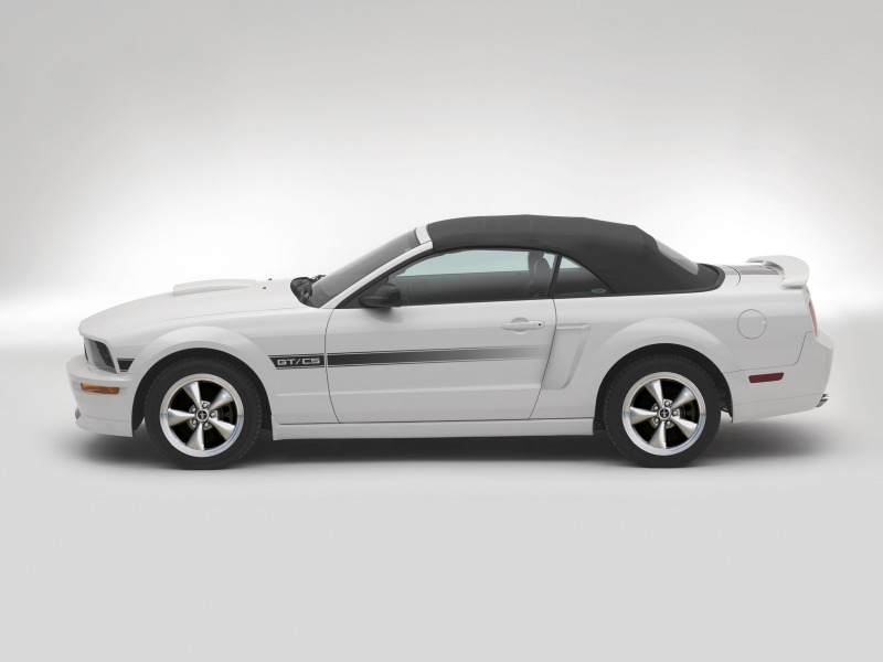 2007 Ford Mustang California Special GT/CS Introduced
