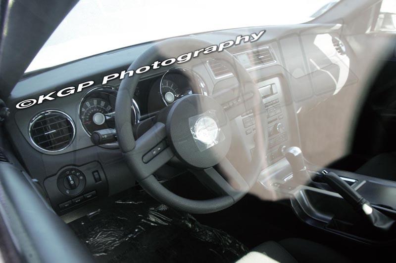 2010 Mustang Interior