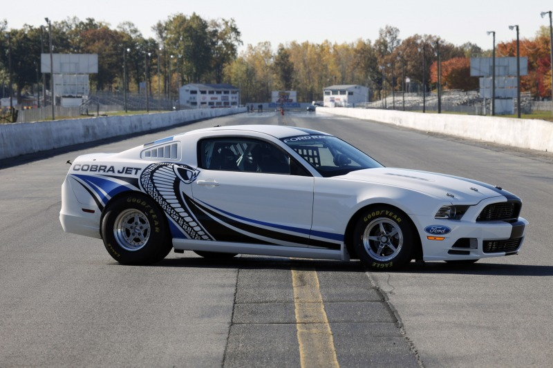 Ford Mustang Cobra Jet Concept Goes Twin-Turbo for SEMA Debut ...