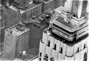 Ford Mustang atop Empire State Building
