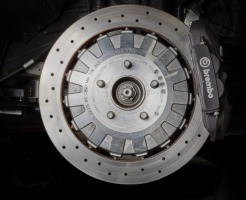 Brake Rotor and Caliper