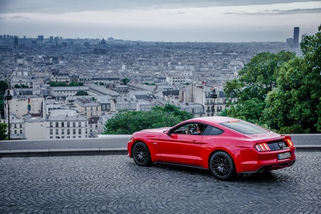 Mustang in France